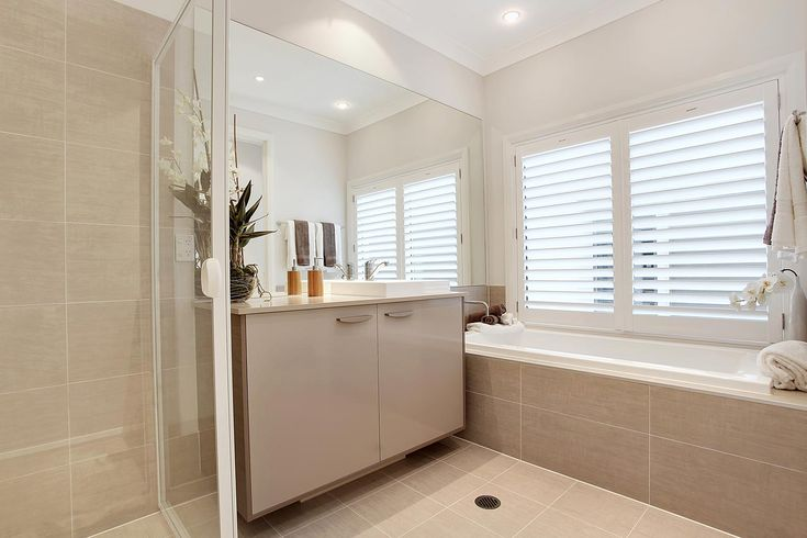 MacDonal Jones Havana - this will be the layout of our bathroom - swapped inset tub for freestanding
