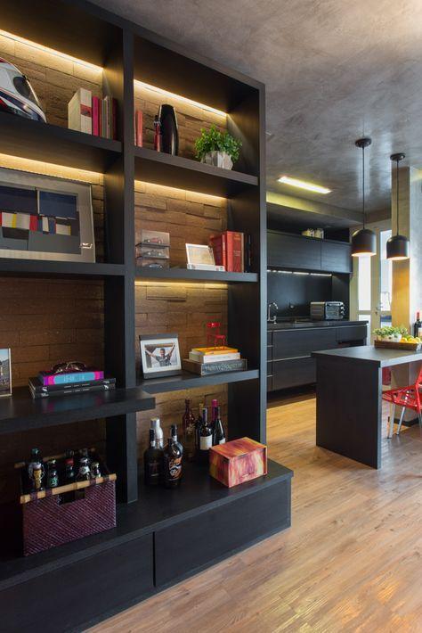 """TODA ARQUITETURA - KAREN PISACANE - AP Brooklin03-02   ❥""""Hobby&Decor""""   Inspirações em Decor!   #arquitetura #architecture #decor #interiordesign"""