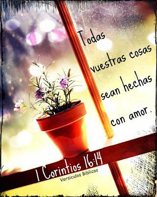 Versículos Biblicos: 1 Corintios 16:14