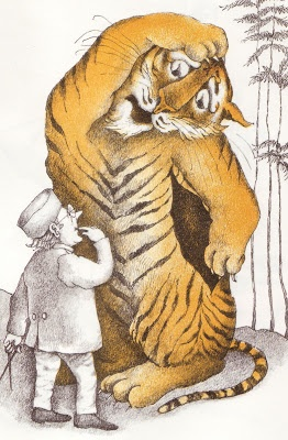 The Terrible Tiger (1970), by Arnold Lobel