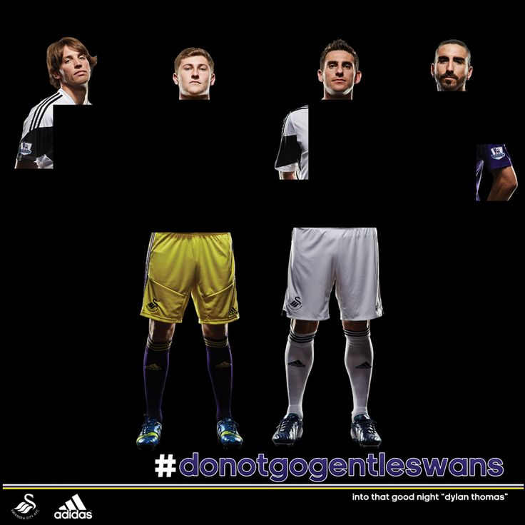 Day 5 Teaser photo of the new Swansea City 2013/14 Premier League Kit