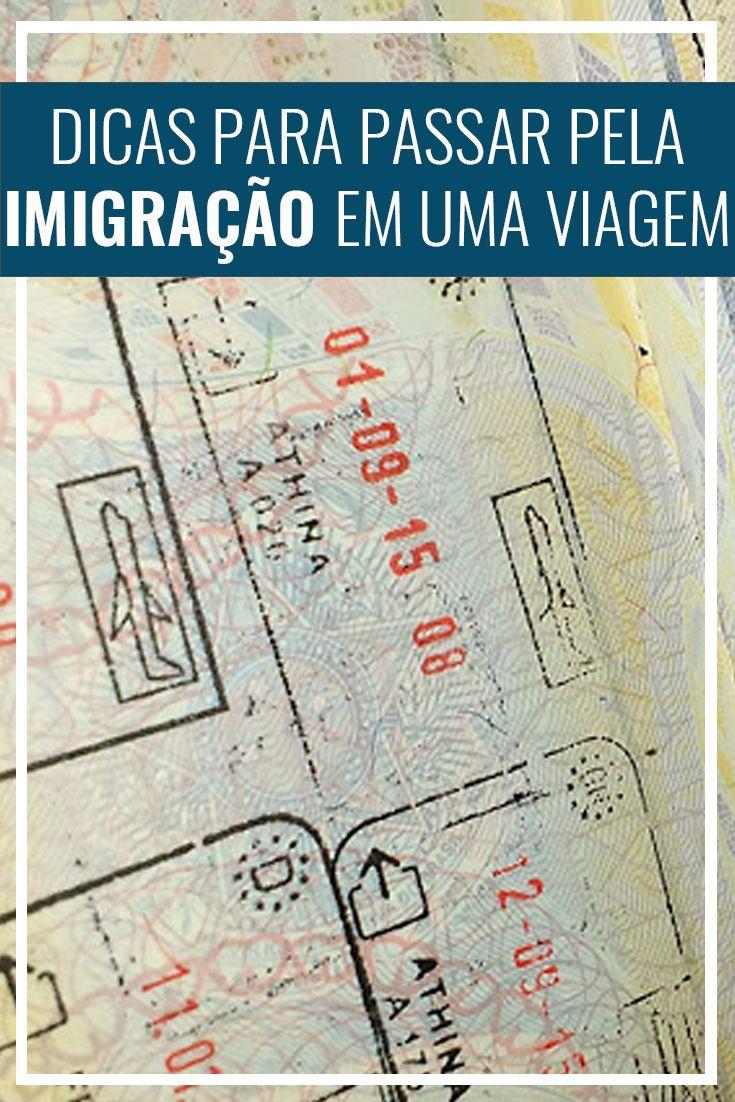 Dicas para passar pela imigração em uma viagem internacional. Documentos necessários, perguntas feitas e outras dicas. Passaporte, Europa, Estados Unidos.