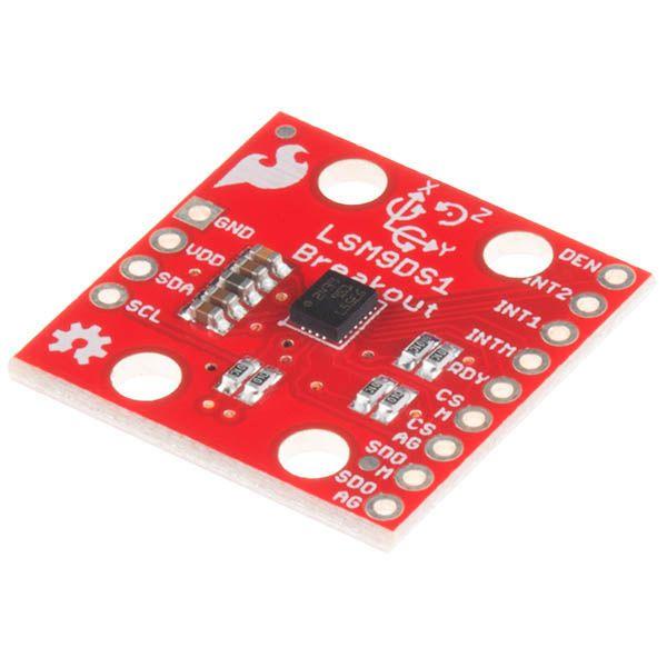 *9DOF IMU Breakout LSM9DS1*  a versatile, motion-sensing system-in-a-chip