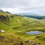 It seems like there is a breathtaking view around every bend on the Isle of Skye We hiked up to the Old Man of Storr which is amazing But if you keep going the trail opens up to this view Amazing Is the Isle of Skye on your travel wish list isleofskye oldmanofstorr scotland familytravel earthtrekkers goeverywhere familyadventure neverstopexploring exploremore traveladdict ventureout rtw aroundtheworld travelingfamily letsadventure familyadventuretravel travelmoments travelphotography…