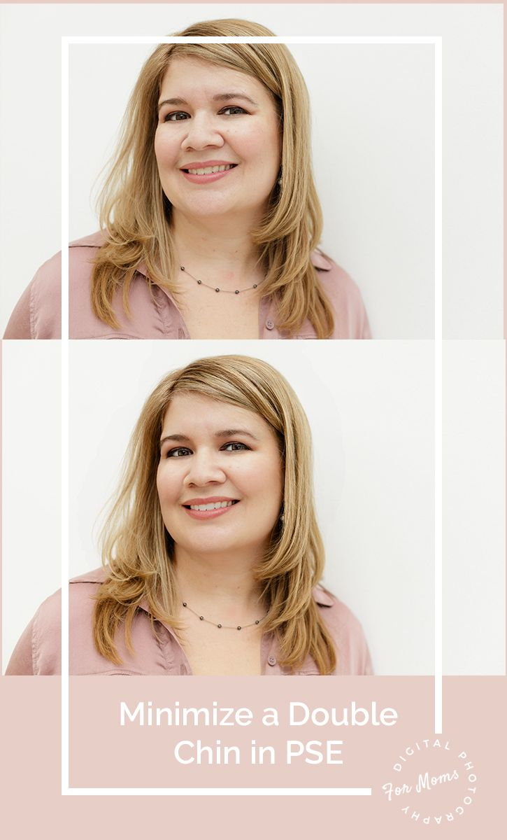 06 Remove A Double Chin In Photoshop Elements Or Lightroom Photoshop For Photographers Photoshop Elements Photoshop Elements Tutorials
