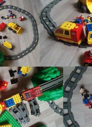 Kaufe meinen Artikel bei #Mamikreisel http://www.mamikreisel.de/spielzeug/spielzeug-paket/33446519-lego-duplo-eisenbahn-mit-elektr-eisenbahn-brucke-und-tunnel-lego-duplo-konvolut