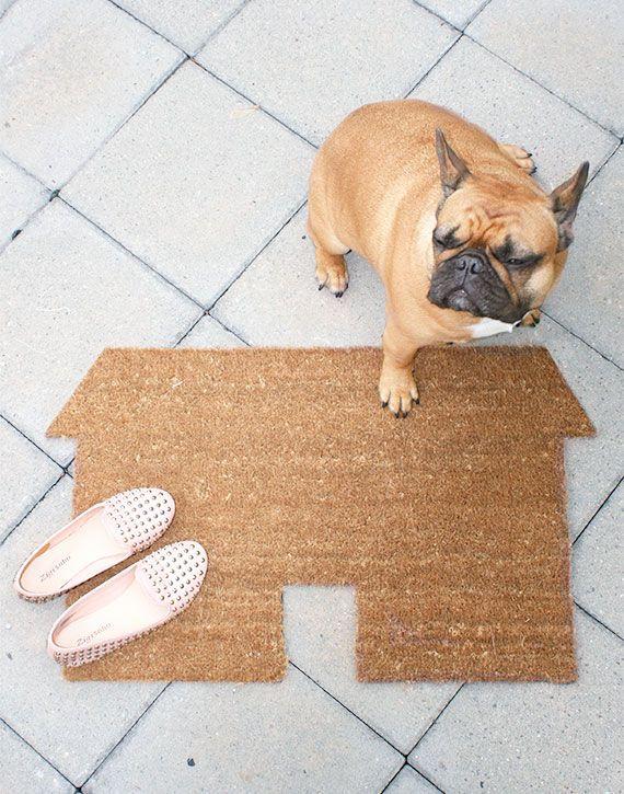 DIY House Doormat Tutorial