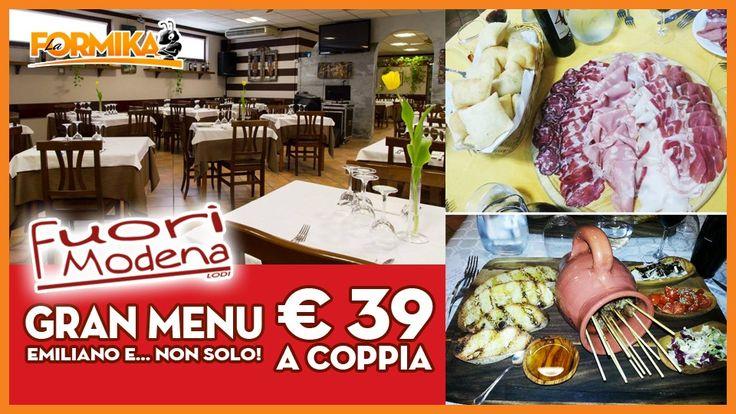 La Formika: Coupon cena per 2 persone al Fuori Modena con le tradizioni Italiane - Fuori Modena
