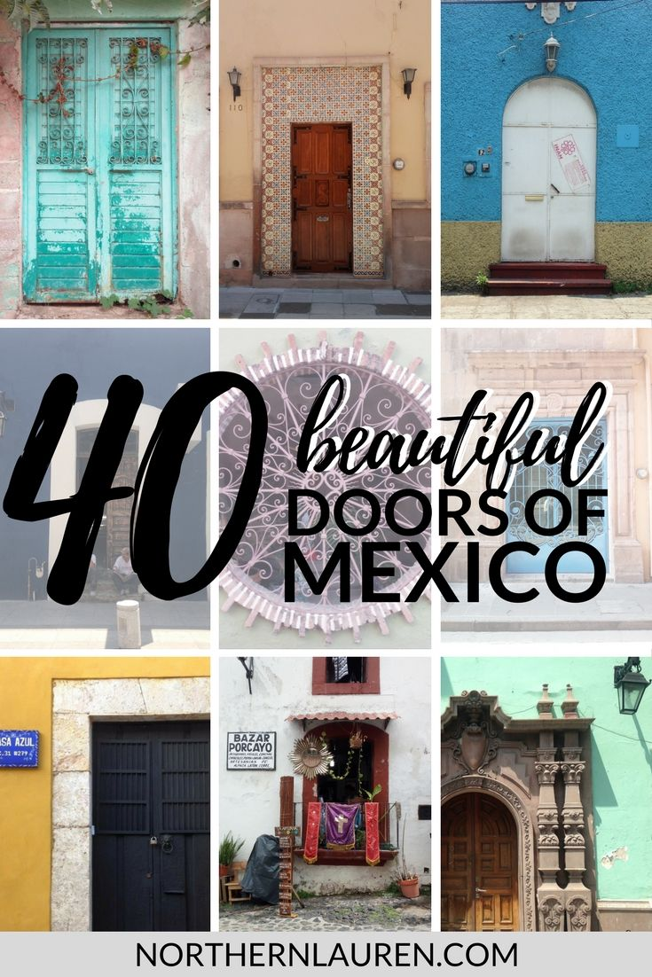 40 Cool Quirky And Colourful Mexican Doors And Windows Northern Lauren Mexican Doors Latin America Travel Mexico City Travel