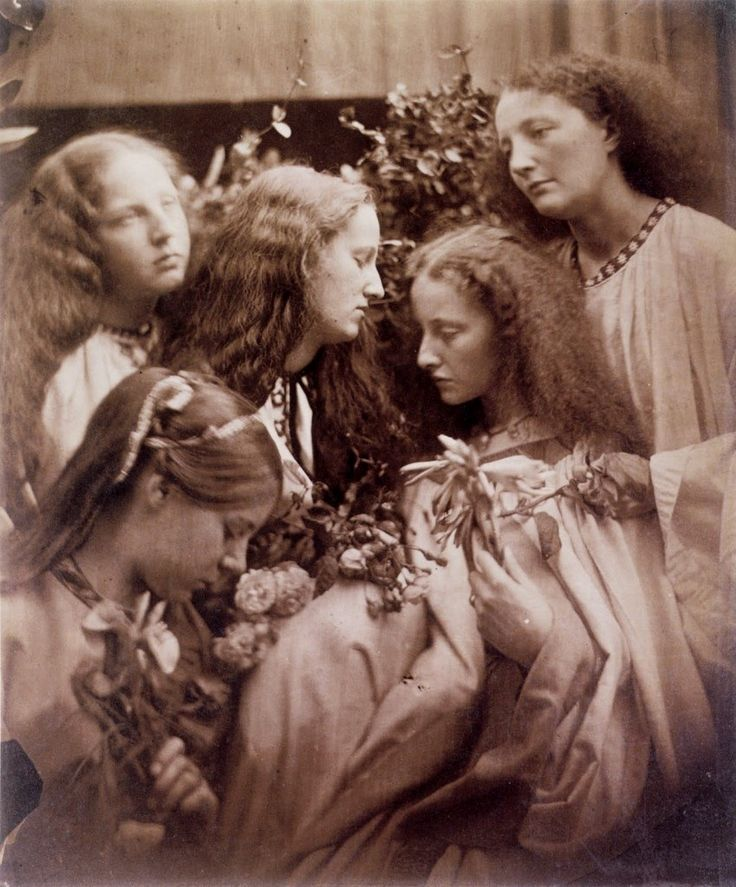 The Rosebud Garden of Girls. Julia Margaret Cameron 1868