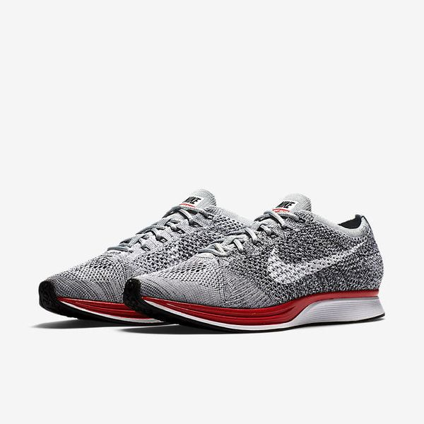 los angeles 99e40 822bd ... Nike Flyknit Racer - Wolf Grey White - Pure Platinum - Cool Grey ...