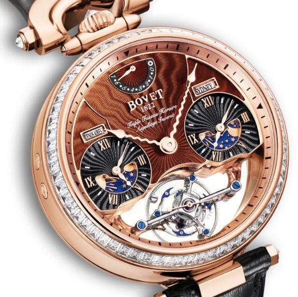 Brown Bovet Fleurier Rising Star Watch