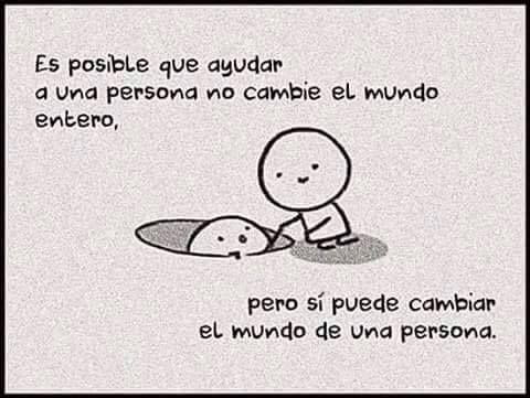 #unMundoMejor =)
