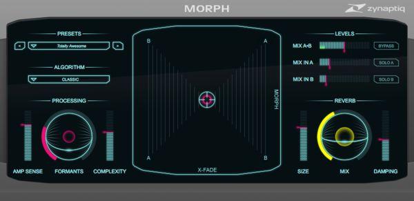 Zynaptiq MORPH v2 Plug-In Screenshot