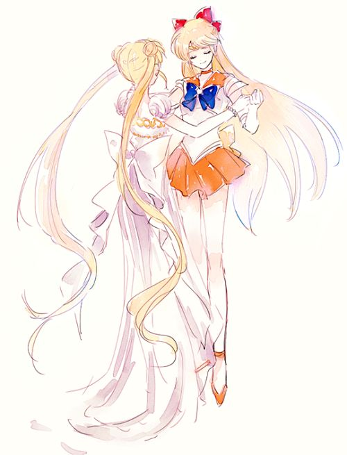Sailor Venus & the Princess