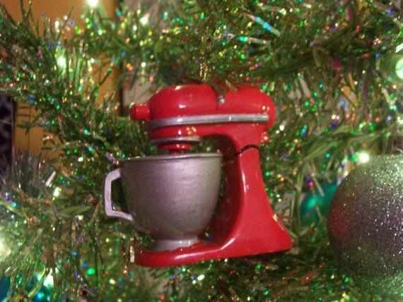 Cute Little Kitchenaid Mixer Ornament Christmas Crafts