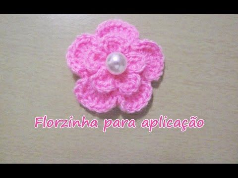 Borboletas de Crochê Para Aplicação 01 Neste vídeo você terá o passo a passo completo desta linda borboleta em crochê. Vídeos Anteriores: Flor catavento: htt...