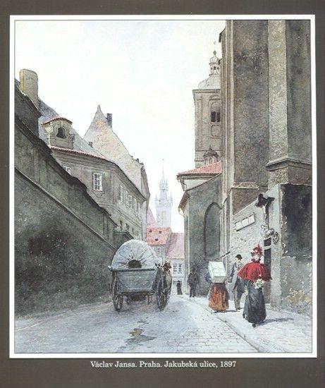Václav Jansa, Jakubská ulice