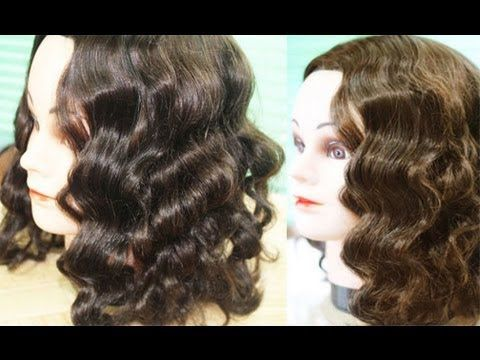 Foil Curls Method 2-No Heat Amy Adams Inspired Waves- Heatless Waves for...