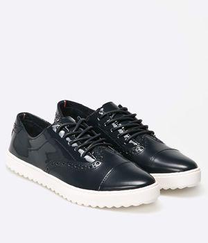 Pantofi Cu Siret Fara Toc Dama Tommy Hilfiger | Cea mai buna oferta
