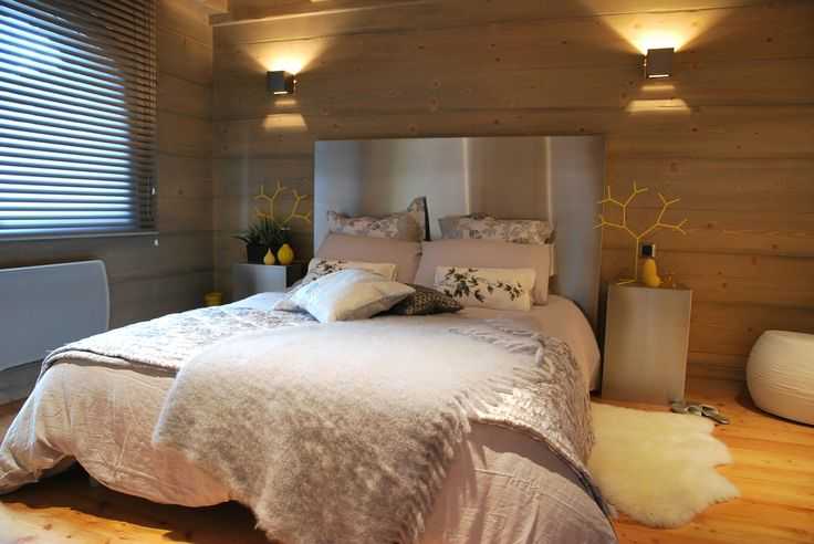 25 best chambres images on pinterest chalets room and child - Belle chambre moderne ...