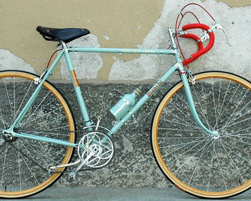 A 1935 Bianchi Corsa.  I am in fact in the process of poisoning the owner to acquire this.