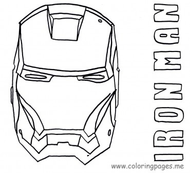 Iron Man Coloring Pages Printables