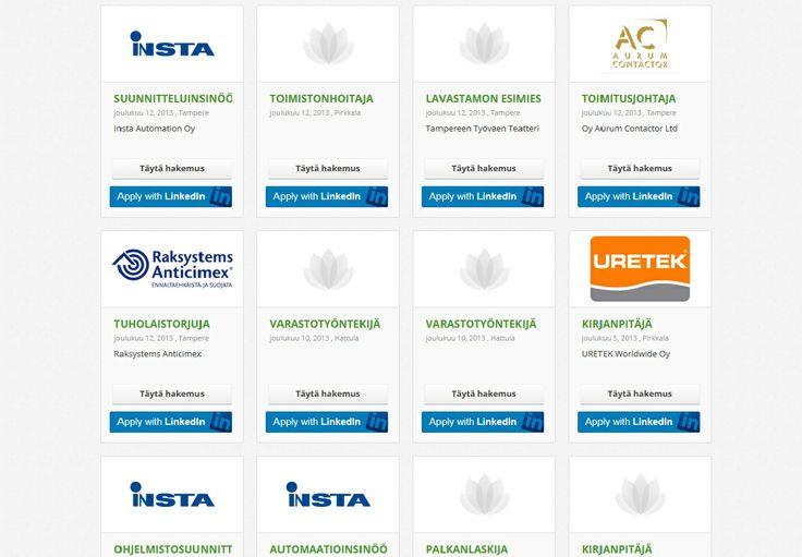 Lähetä hakemuksesi ja ansioluettelosi palkkatoiveineen viimeistään 27.1.2014 osoitteeseen satu.sarkka@raukola.fi. Työ alkaa sopimuksen mukaan. Haastattelut aloitetaan jo hakuaikana. Lisätietoja saat rekrytointikonsultti Satu Särkältä/Arja Raukola Oy p. 0400 503 754.