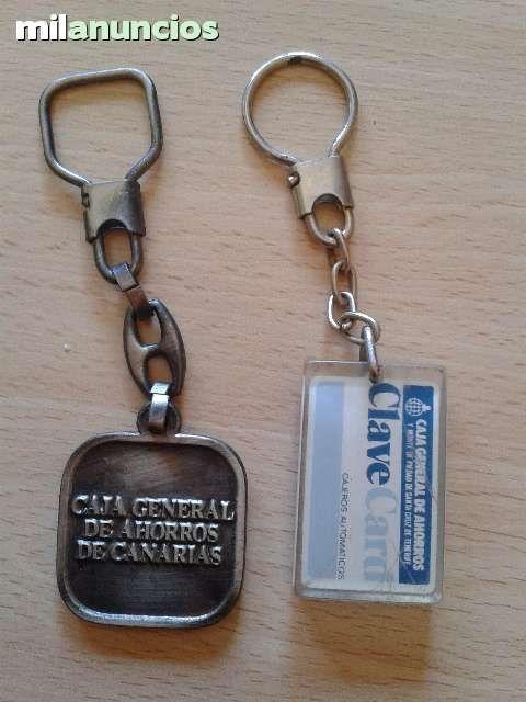 Vendo estos dos llaveros de Caja Canarias. Anuncio y más fotos aquí: http://www.milanuncios.com/llaveros-de-coleccion/2-llaveros-de-caja-canarias-128569079.htm