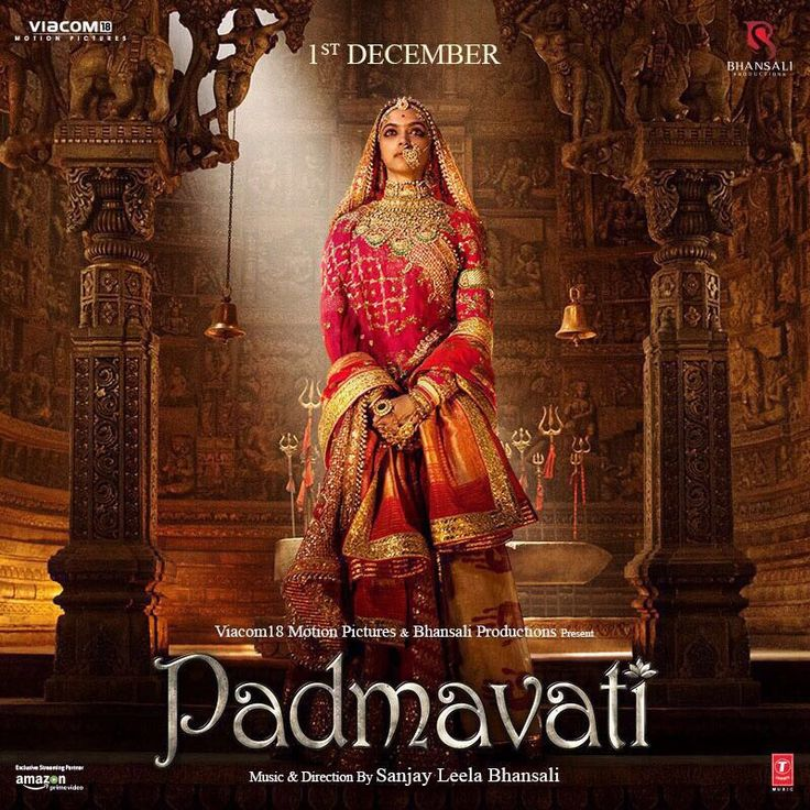 #Padmavati first Look Out! #DeepikaPadukone looks fierce as the warrior queen