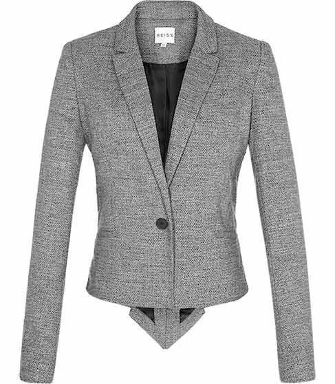 Reiss Tail Back Tailored Jacket
