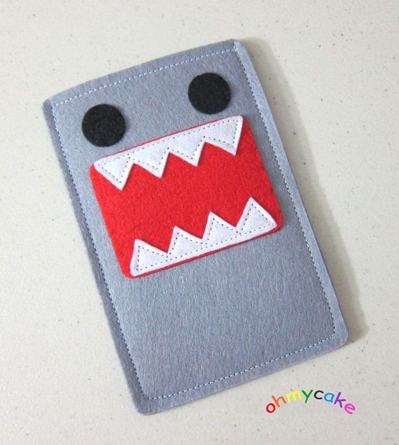 3cedcbbb1b22a0 Items similar to Custom Size Felt iPhone Case, Cell Phone Sleeve, Felt  Phone case, Handmade cell phone purse, Monster case, iPhone 7 case on Etsy