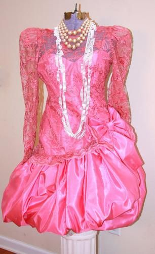 1000  ideas about 80s Prom Dresses on Pinterest  80s prom 80s ...