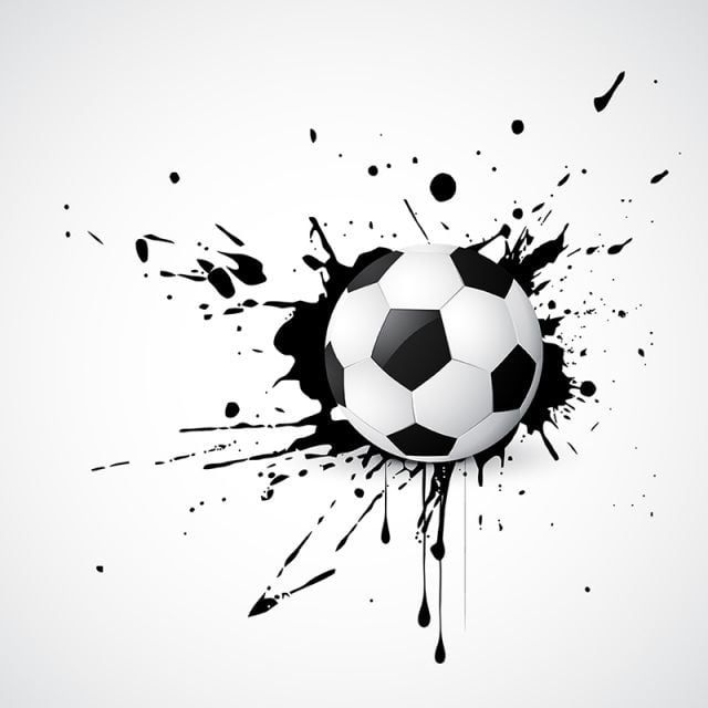 Football Vector Ball Soccer Ball Sport Vector Png And Vector With Transparent Background For Free Download In 2020 Soccer Ball Black And White Abstract Soccer