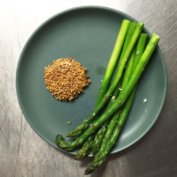 Asparagus brown butter - ACME restaurant  Rushcutters Bay