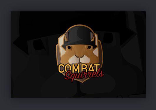 """Combat Squirrels hat mich durch einen sehr engen Freund kontaktiert. Sie haben mir die komplette Freiheit gelassen, wie ich ihr Logo designe. Meiner Meinung nach tue ich mich noch etwas schwer """"Tier-Logos"""" umzusetzen, aber aller Anfang ist schwer 🙂 Kaum war das Logo fertig, gab es nur positives Feedback. Das freut mich natürlich umso mehr, dass mein Kunde auch diese Bestätigung erhält. Es war mir ein Vergnügen dieses Projekt umzusetzen."""