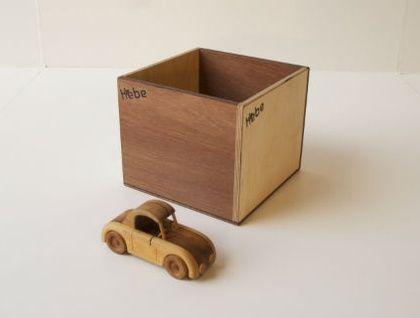 Wooden Storage Box - Large