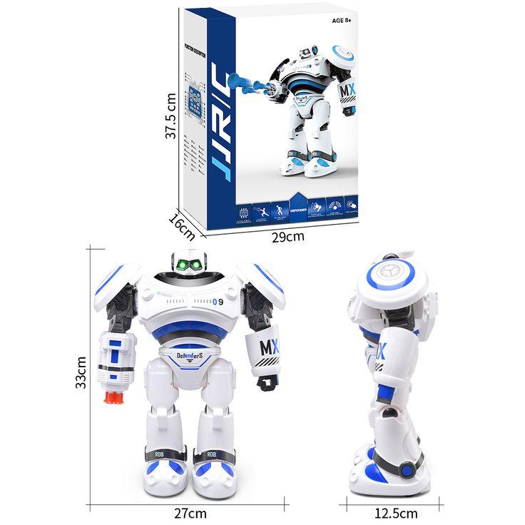 JJRC R1 AD Arquivos policiais Defesa de combate programável Robô RC inteligente