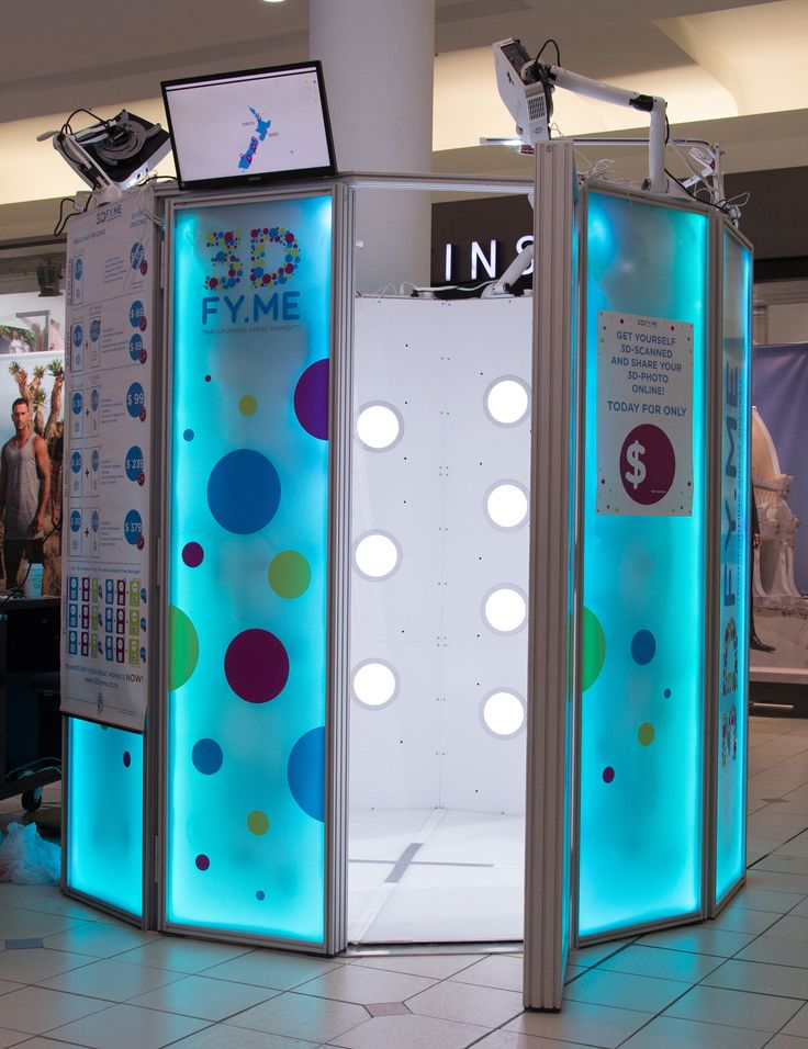 3D-Full-Body Digital Scanning Booth