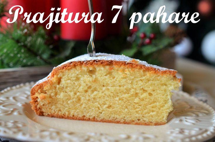 Prăjitură 7 pahare