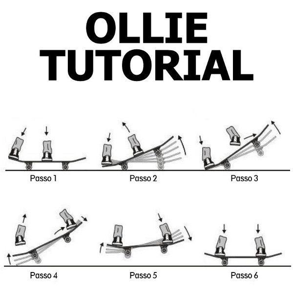 Como mandar um Ollie - Clube do skate
