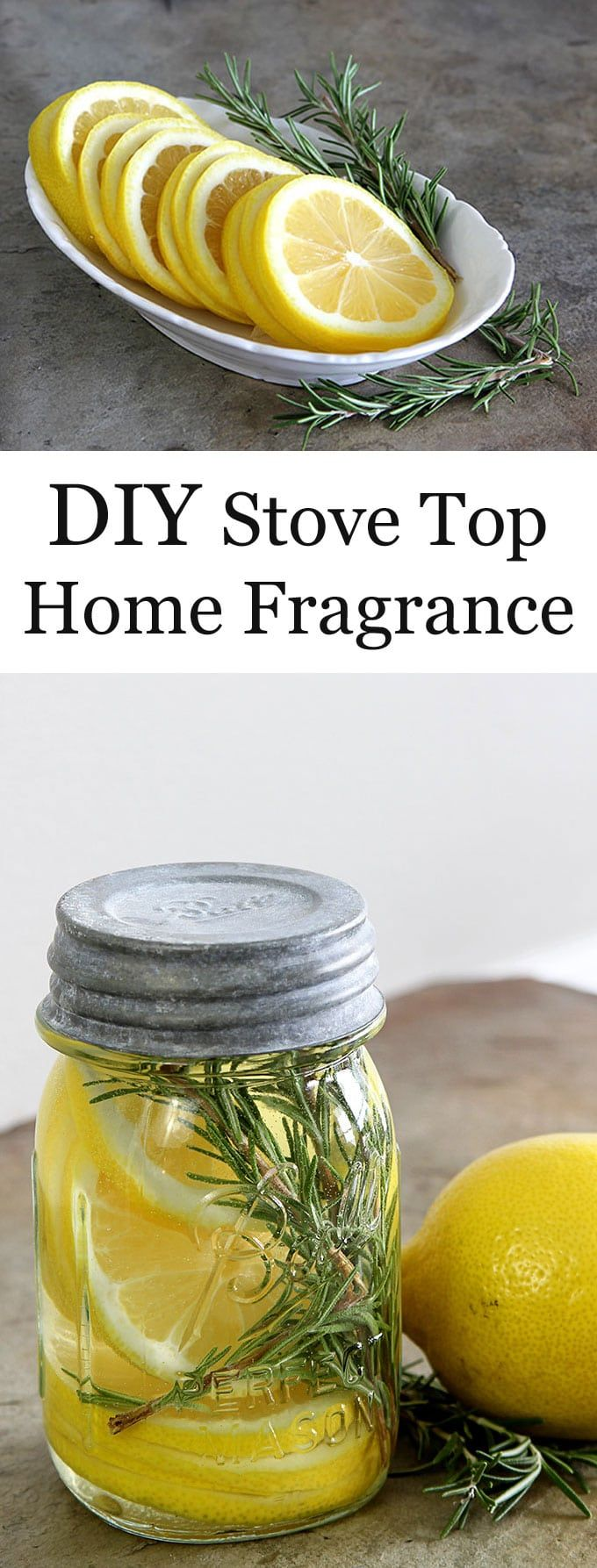 Learn how to make a DIY Stove Top Home Fragrance with just a few ingredients. A quick and easy potpourri recipe to make your home smell fresh and cozy!