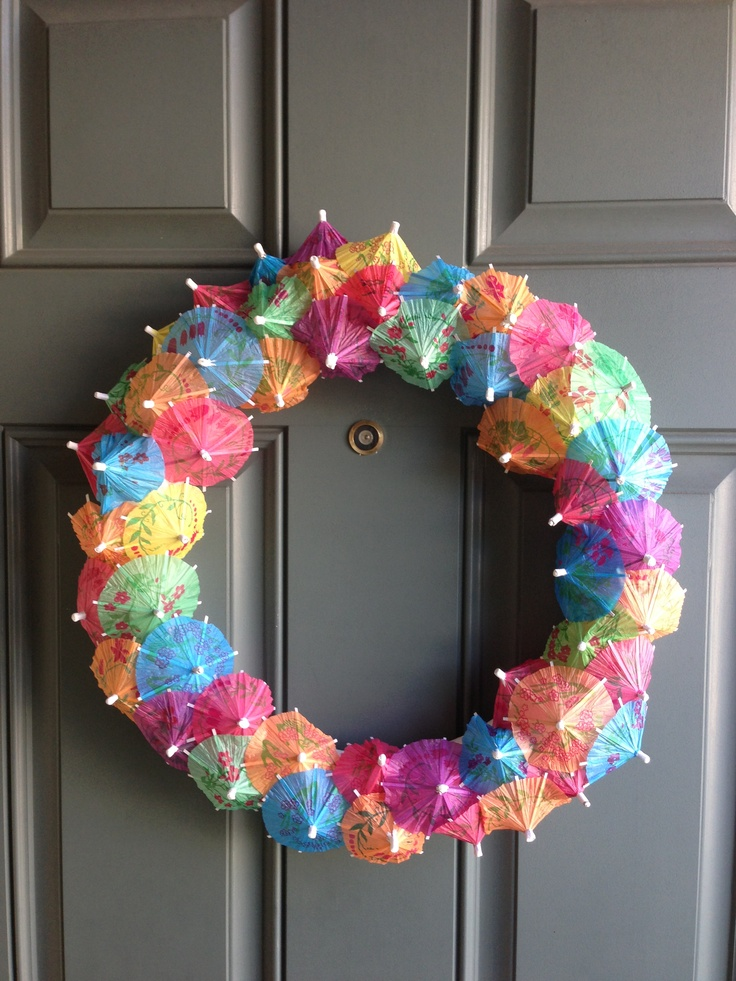 1000 images about diy wreaths on pinterest yarn wreaths for Diy summer wreath