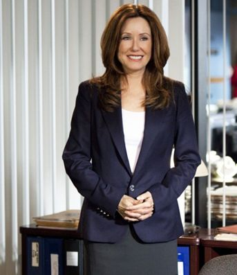 Mary McDonnell, plays Captain Sharon Raydor on The Closer