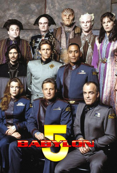 Babylon 5 - Loved this show! Especially the Shadow scenes. Yeah yeah, even though they were the bad guys, they were intriguing!