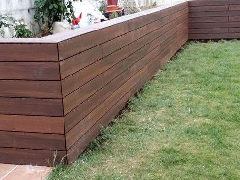 jardineras forradas de madera - Buscar con Google