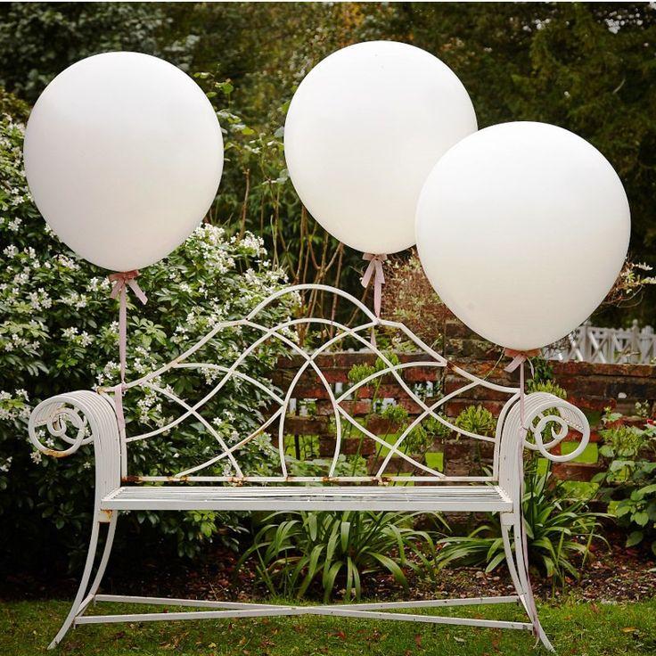 Riesen Luftballons weiß