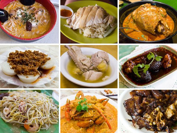 An Introduction to Singaporean Food...mmm I see chicken rice & chili crab!!