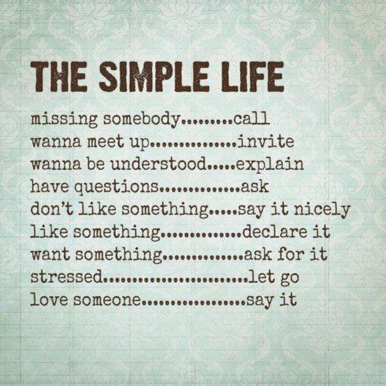 17 Best Simple Life Quotes On Pinterest