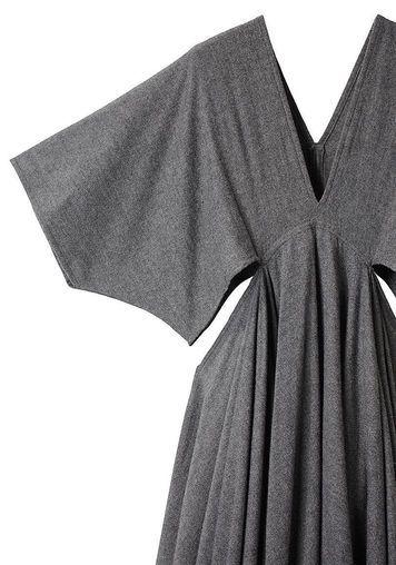 Limi Feu | Trapeze V-Neck Dress | La Garçonne